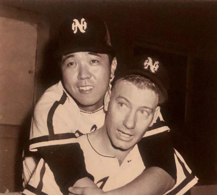 Katsuya Nomura and Joe Stanka