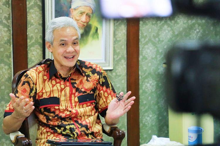 Istana Meradang, Ganjar Justru Tanggapi Begini soal Jokowi King of Lip Service & Ma'ruf King of Silent