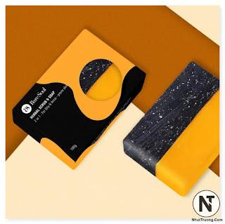 Xà Phòng BareSoul Herbal Scrub & Soap 2 In 1 For Oily & Acne Prone Skin Giảm Mụn và Thâm Cơ Thể 100g