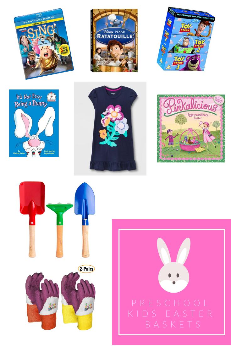 Preschool aged Easter Baskets