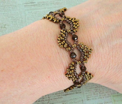 Linda S Crafty Inspirations Free Beading Pattern Dime