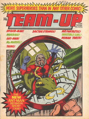 Team-Up #15, Ant-Man, Marvel UK