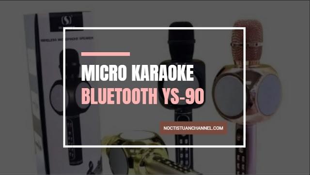 Micro kết nối với điện thoại YS-90 thiết kế sang trọng âm thanh cực chất