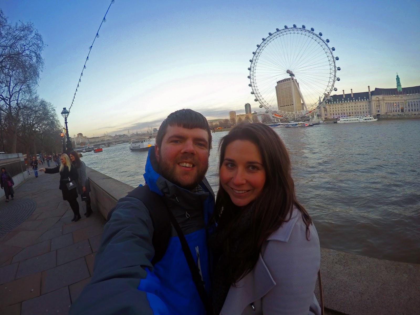 London Eye Go Pro Selfie