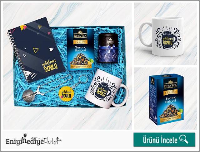 Çay Tiryakisi Erkeklere Özel Hediye Kutusu