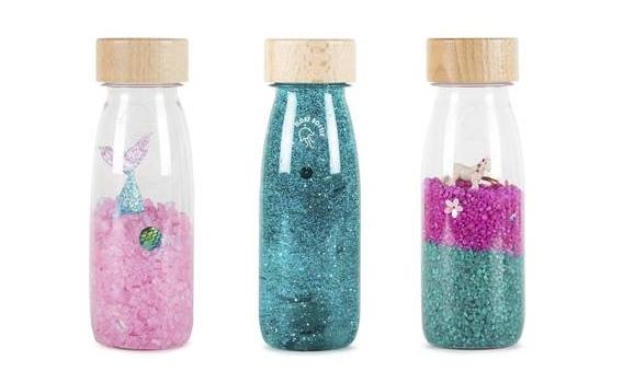 Botellas sensoriales de Baby Voltereta