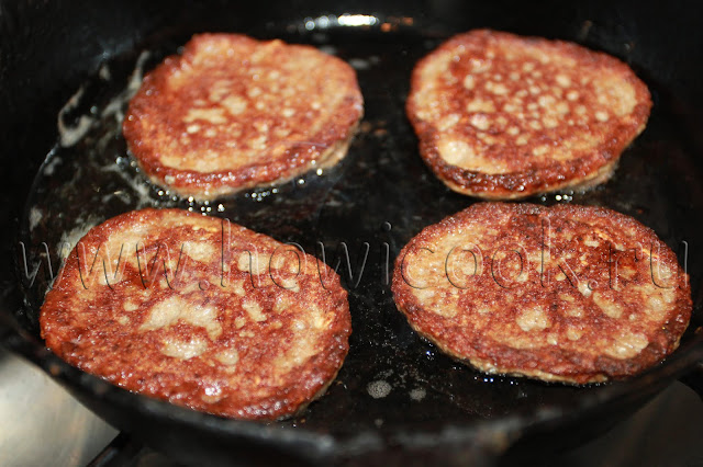 рецепт оладьев из куриной печени с пошаговыми фото