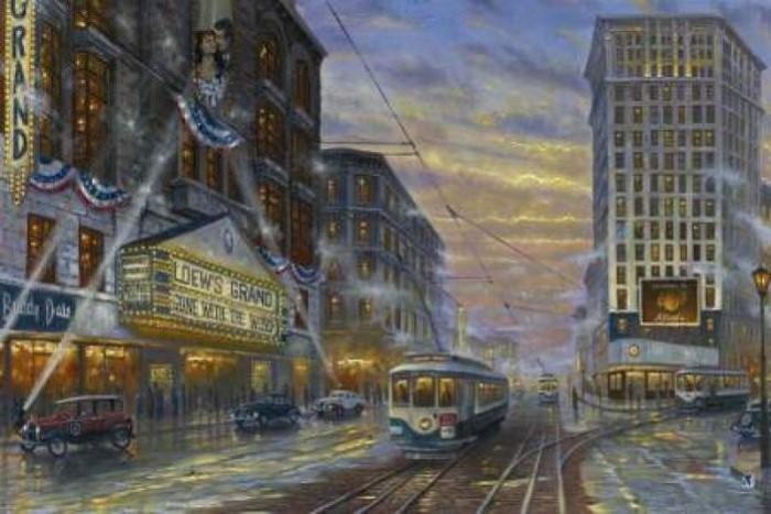 Романтические городские пейзажи. Robert Finale 11