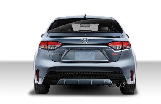 Toyota Corolla 2020 Rear View