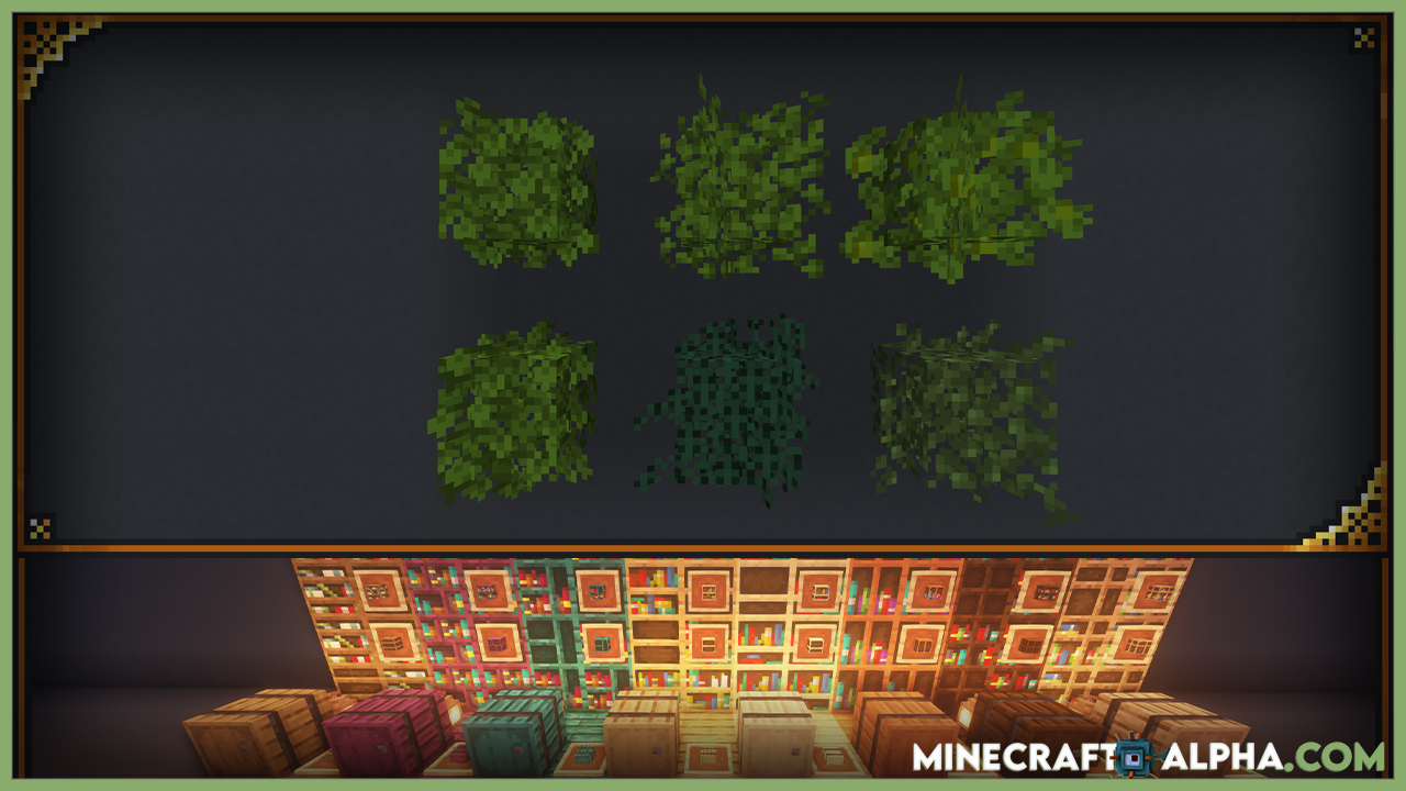 Enhanced Vanilla Resource Pack For 1.17.1 (Leaves, Better Minecraft)