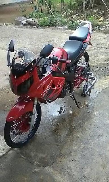Modifikasi Minerva 150R Jari-Jari