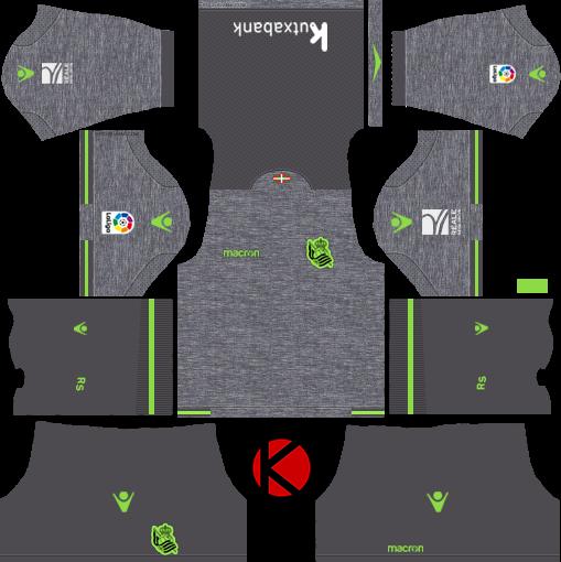 330587c1c41 Real Sociedad 2018 19 Kit - Dream League Soccer Kits - Kuchalana