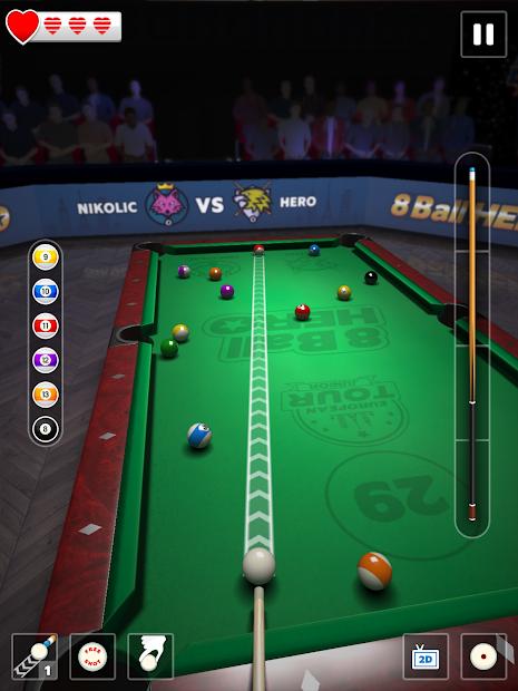 8 Ball Hero Bilardo Oyunu Hileli APK v1.11