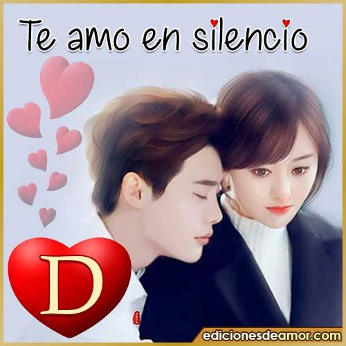 te amo en silencio D