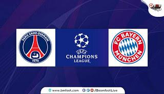مباراة بايرن ميونخ ضد باريس سان جيرمان مباشر نهائي دوري الأبطال