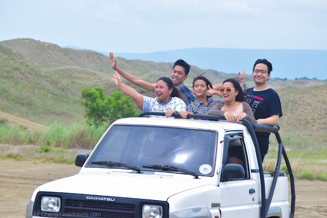 Adventures in La Paz Sand Dunes of Ilocos Norte