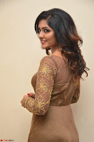 Eesha looks super cute in Beig Anarkali Dress at Maya Mall pre release function ~ Celebrities Exclusive Galleries 071.JPG