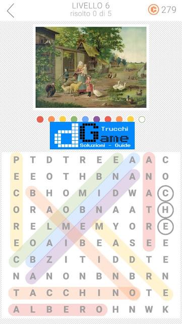 10x10 Crucipuzzle soluzione pacchetto 6 livelli (1-5)