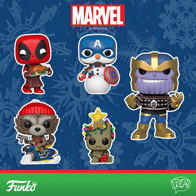 Marvel Holiday Pop! Series 2 Vinyl Figures by Funko