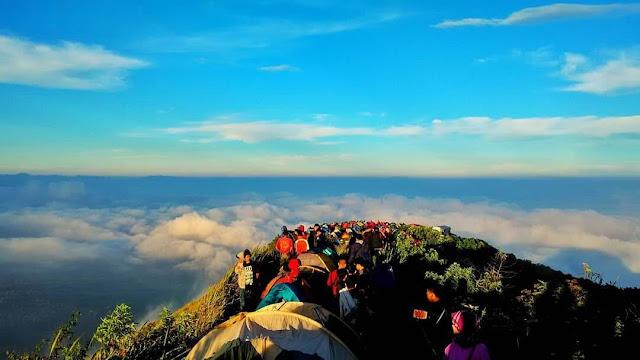 kata romantis pendaki gunung