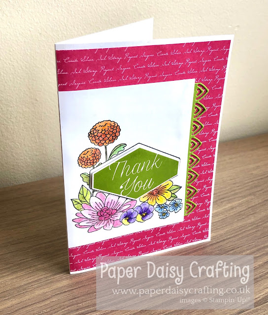Accented Blooms Stampin Uo