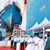 DELIVERY & FLAG-OFF CEREMONY OF MARINE AMBULANCE BOAT FOR KERALA STATE FISHERIES DEPARTMENT.
