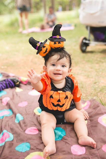 fantasia bruxinha para bebe menina halloween bh