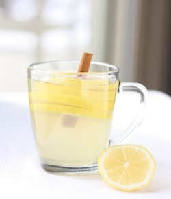 Winter Lemonade recipe with Cinnamon Sticks