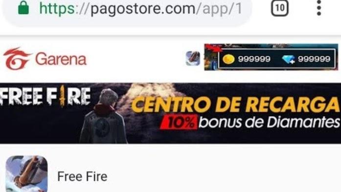 Pagostore Free Fire, Tempat Top Up Diamond Murah dan Aman