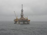 Njord-plattformen. Foto: A.Tom Jervis via Wikimedia. Lisens CC-by-2.0