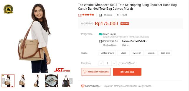 Rekomendasi Tas Wanita Harga Murah Di Shopee Tas Ransel Dan Tas Selempang Branded Terbaru 2020