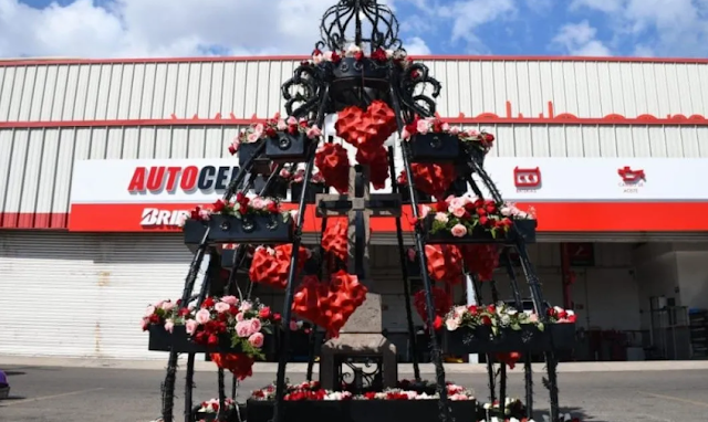 """Así nomás quedo, el lugar donde ejecutaron a Edgar Guzmán, hijo del """"Chapo Guzmán"""" en Culiacán, Sinaloa"""