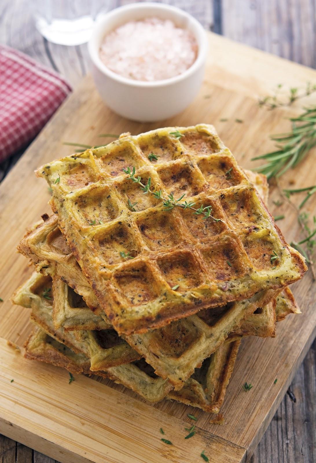 Flourless Herbed Potato Waffles The Iron You Bloglovin