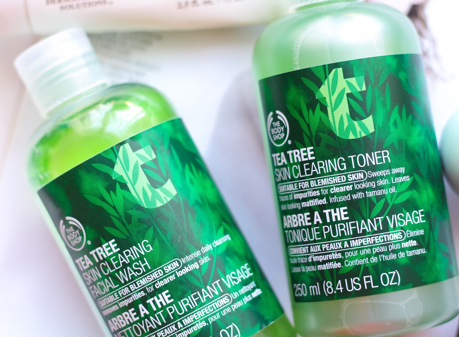 The Body Shop, The Body Shop Tea Tree Range, Tea Tree Skin Clearing Facial Wash, Tea Tree Skin Clearing Toner