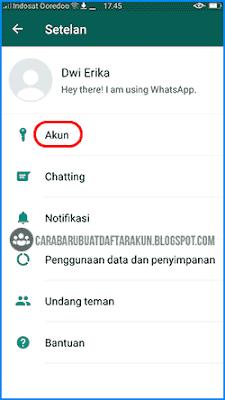 cara mengganti foto profil whatsapp di hp android