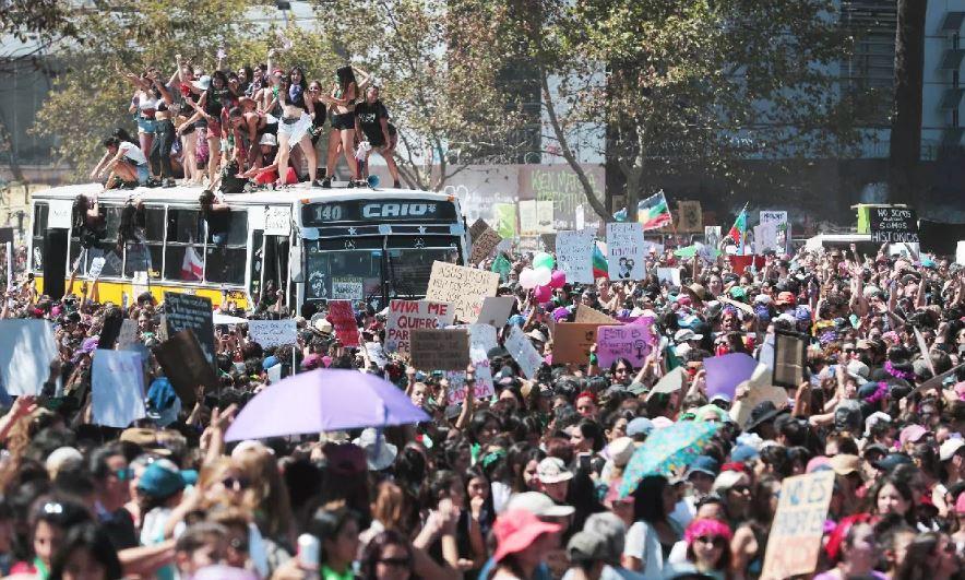 Incidentes aislados en Santiago