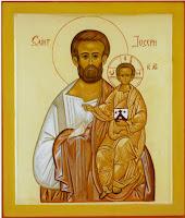 St Joseph / icône du fr. Jacques-Paul