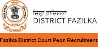 Sarkari Naukri - Fazilka Court Punjab Recruitment - Stenographer, Typist Posts - APPLY NOW