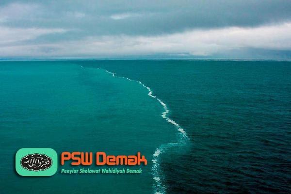 tempat pertemuan antara dua lautan