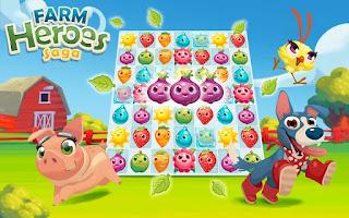 Farm Heroes Saga Mod apk v2.71.6  (Unlimited Live) Terbaru