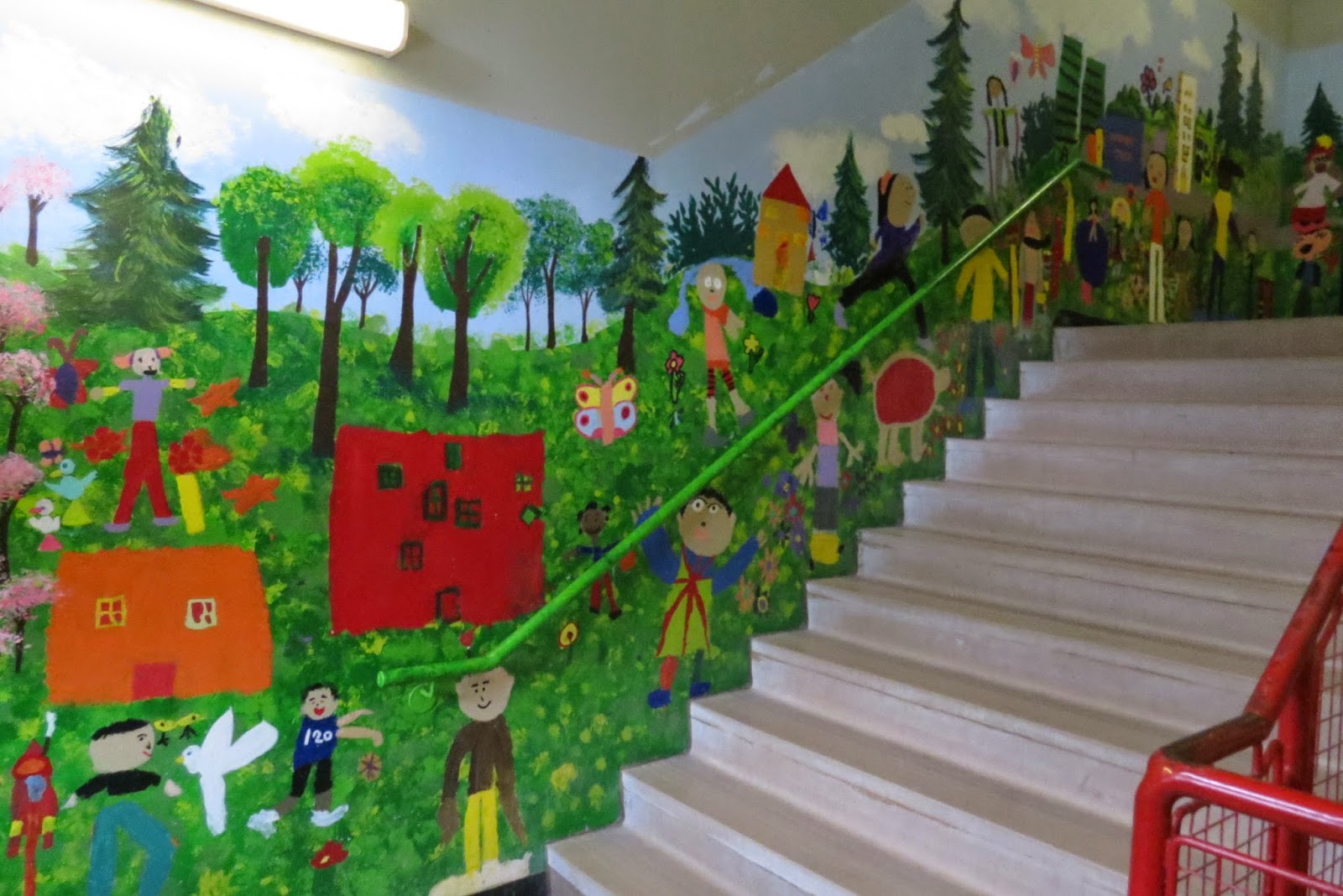 Adventures In Pei And Beyond Stair Wall Art In A Toronto