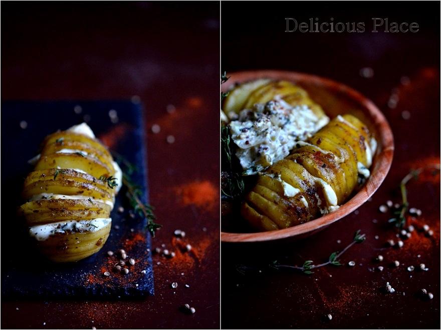 Ziemniaki pieczone z rokpolem