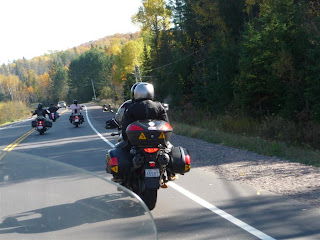 Skid and Sandy On The Road: Freedom Riders North Bay Ride