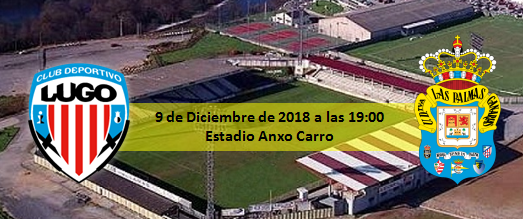 Previa CD Lugo - UD Las Palmas 9 diciembre 19:00