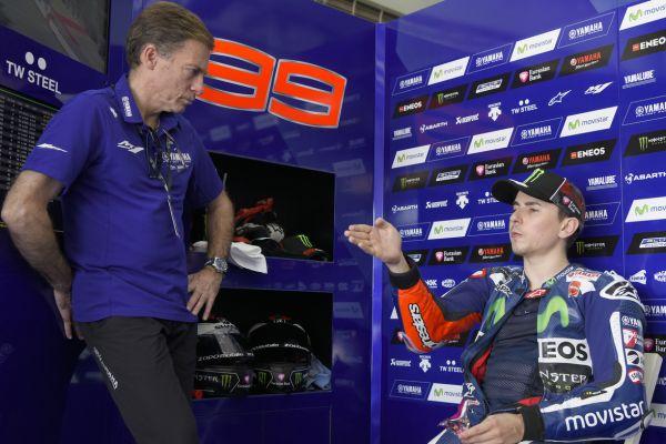 Lorenzo dilarang bicara tentang Ducati oleh Yamaha. Walau hanya meyebut kata 'DUCATI'
