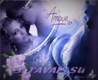 image d'un couple amoureux dans un poème romantique