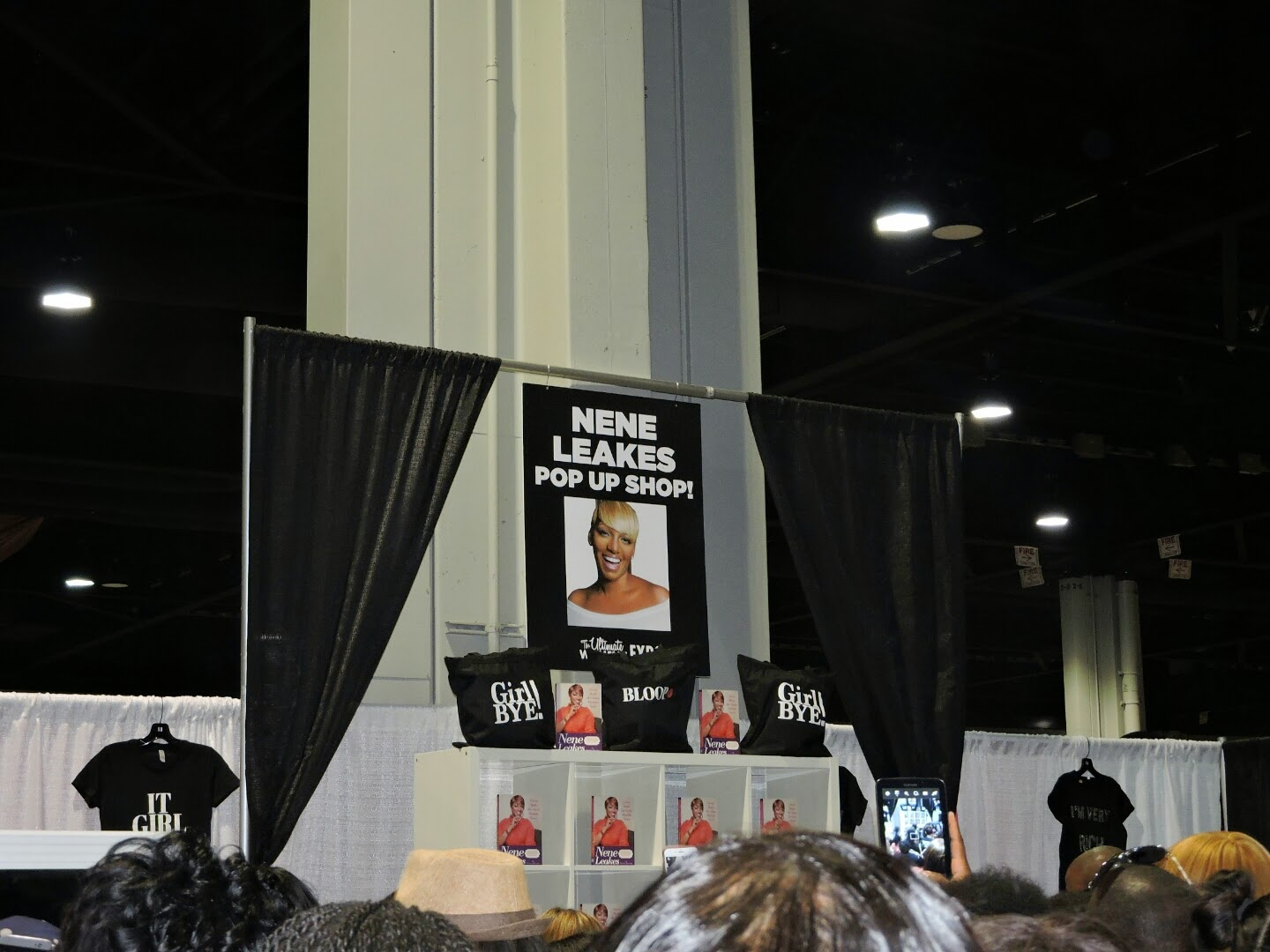 Alive Expo and Atlanta Ultimate Women's Expo Recap Plus Meeting Nene Leakes!  via www.productreviewmom.com