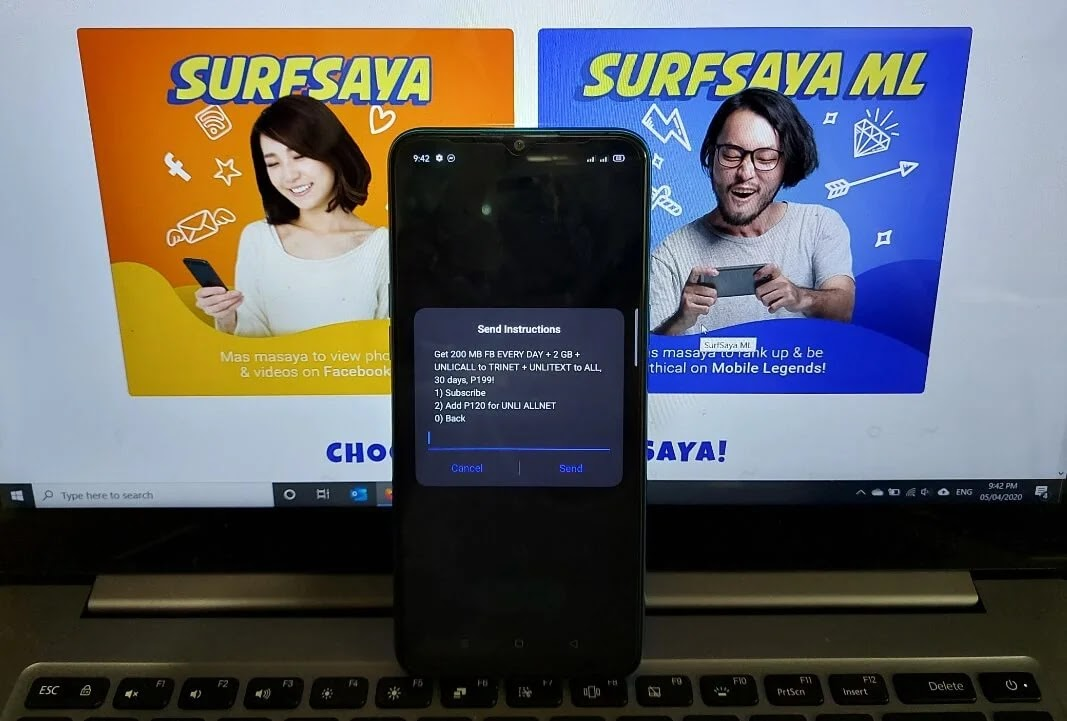 TNT SURFSAYA 199 with 8GB Data, Unli Calls, and Unli Text Valid for 30 Days for Only 199 Pesos