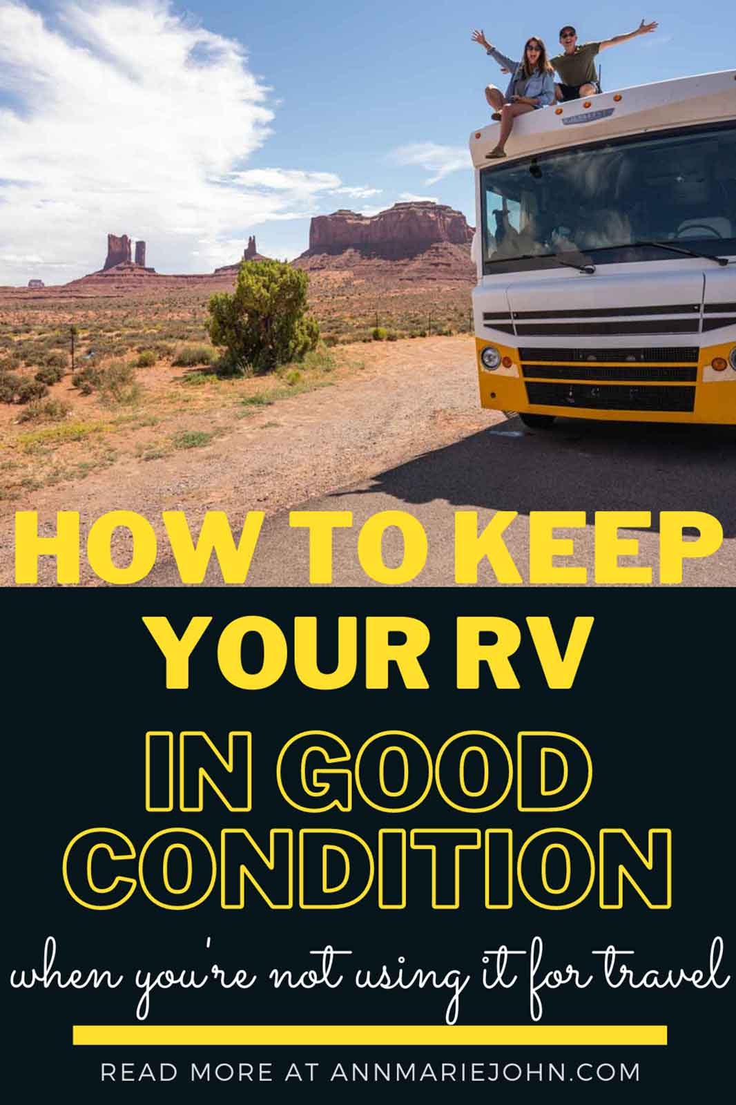 How To Keep Your RV In Good Condition When You're Not Using It To Travel