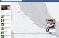 In diretta su Facebook; mappa dei live streaming video